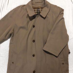 Burberry Nova-Checked Trench Coat